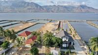 bán đất thổ cư sát mặt đầm thủy triều đường nhà ô tô chạy thoải mái