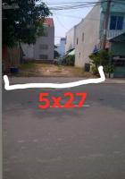 cần bán gấp lô đất mặt tiền 5x27m mặt đường 8m bàu bàng