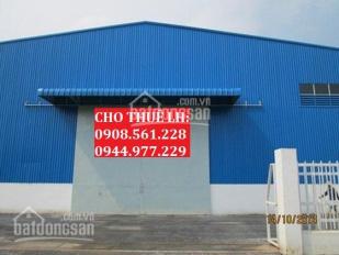 Cho thuê nhà xưởng P. An Phú Đông, Q12, 300m2, 500m2, 700m2, 1000m2, 1500m2, 2000m2.LH 0908.561.228