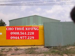 Kho - xưởng cho thuê Q. 12, TP. HCM, 300m2, 500m2, 700m2, 1000m2, 1500m2, 5000m2. LH: 0908.561.228