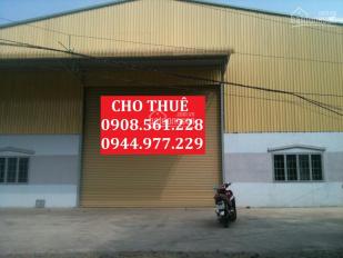 Kho xưởng cho thuê Q.12 DT 300m2, 500m2, 1000m2, 2000m2, 4000m2, 7000m2 10.000m2. LH: 0937.388.709