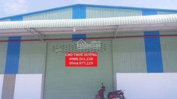 Cho thuê nhà xưởng phường Tân Thới Hiệp - Quận 12, 300m2 + 800m2 + 4000m2 - LH 0944.977.229
