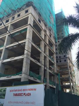 Dự án đang thi công mặt sàn tầng 21