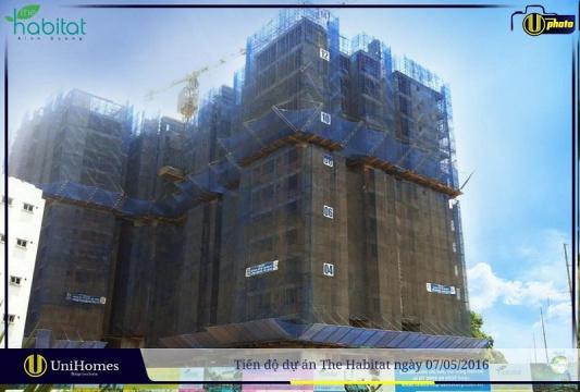 Đã hoàn thành xong phần thô tầng 14 của Block A1 và A2