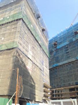 Dự án đang thi công tới mặt sàn tầng 24