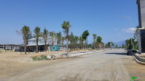 Tiện ích nội khu dự án đang được xây dựng