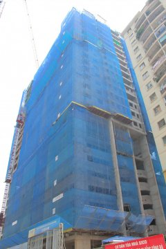 Dự án đang thi công tới tầng 22