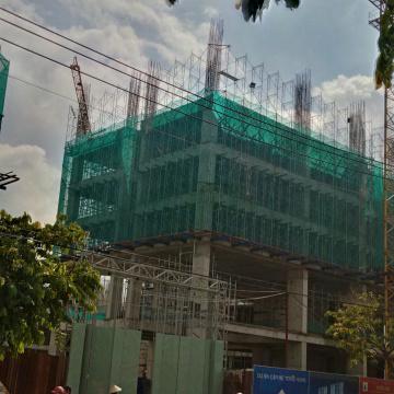 Block A1 đang xây dựng sàn tầng 7