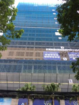 Dự án đang thi công tới mặt sàn tầng 23