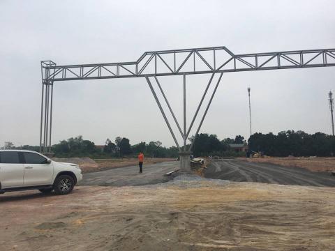Dự án đang hoàn thiện hạ tầng