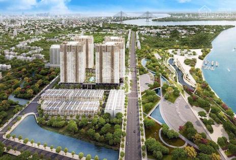 Bán gấp căn hộ 2PN 1WC Q7 Riverside Đào Trí giá chỉ 1.55 tỷ, TT 450 triệu. 0945500544