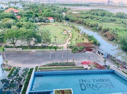 Chính chủ bán căn hộ 1 + 1PN view sông Sài Gòn, Thủ Thiêm Dragon, Thạnh Mỹ Lợi, Quận 2