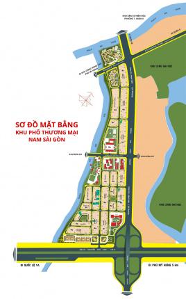 Khu đô thị mới 13B Conic - Nam Sài Gòn