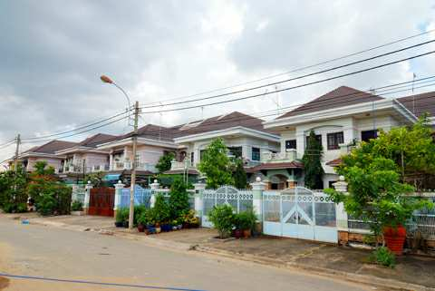 Khu dân cư Bình Hưng