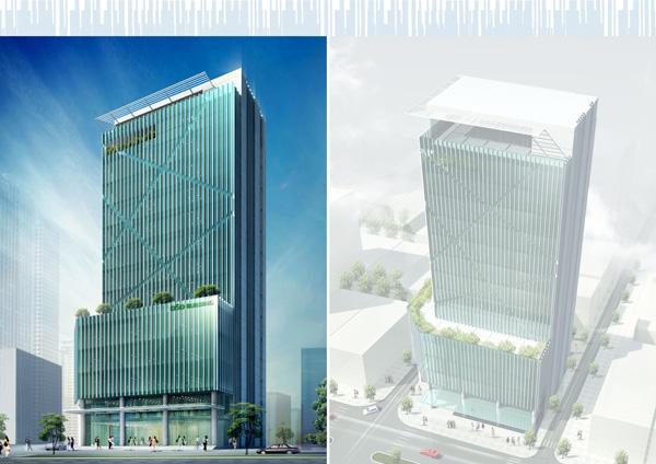 Phối cảnh dự án DSD Building