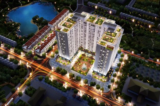 Chi tiết Sài Gòn West Garden