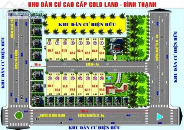 Gold Land Bình Thạnh