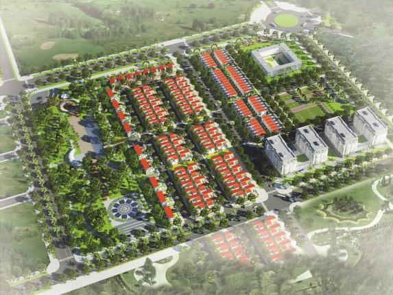 Khu dân cư Hồ Lộc An