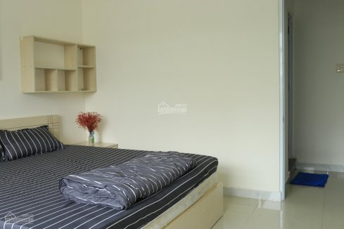 Serviced apartment for rent, 50sqm, 1 bedroom with spacious balcony in district 7