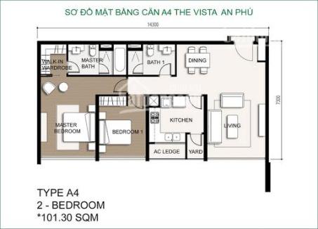 Vista An Phu, over 100m2 - Discount price 4.6 billion