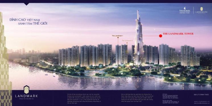 """Nóng từng phút với căn hộ Super Vip tại vị trí """"Tòa nhà cao nhất Việt Nam""""  - Lh PKD 0945 57 54 55"""