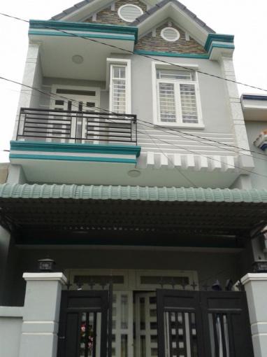 Nhà mới xây 4x10m = 40m2, 1 trệt 1 lầu, sổ hồng riêng, Nguyễn Văn Bứa - 0908.010.490