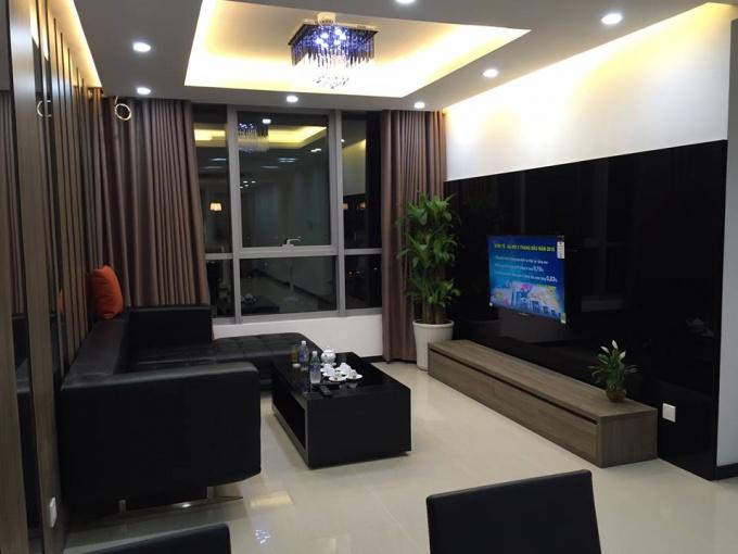 Cho thuê CHCC Thang Long Number One, tầng 22, 108m2, 2 phòng ngủ đủ đồ 17 triệu/tháng, ảnh thực tế