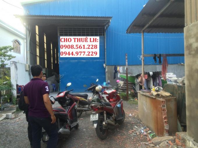 Nhà xưởng P. Thạnh Xuân + P. Thạnh Lộc, Quận 12, DT: 300m2, 500m2, 1000m2, 2000m2. LH: 0944.977.229
