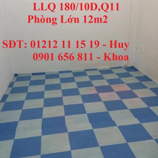 Phòng giá rẻ 1tr tại Lạc Long Quân, Q11 gần CV Đầm Sen