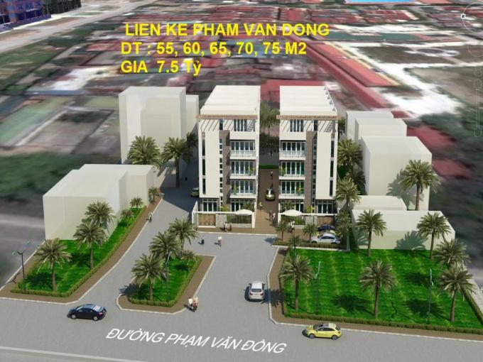 Liền kề Phạm Văn Đồng, mở bán độc quyền rẻ nhất thị trường. 0944040099