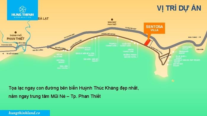 Chính chủ bán nền Sentosa mặt tiền biển Mũi Né Phan Thiết, giá rẻ nhất thị trường. LH: 0901.383.993