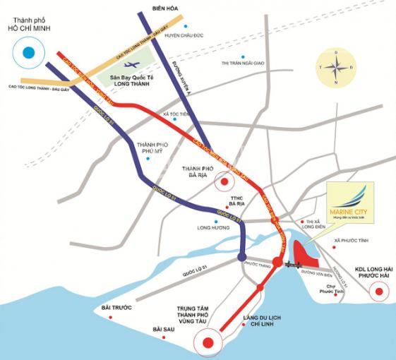 Giá sốc từ chính chủ bán giá từ 1,26 tỷ/nền/ngay tại dự án phố biển Marine City