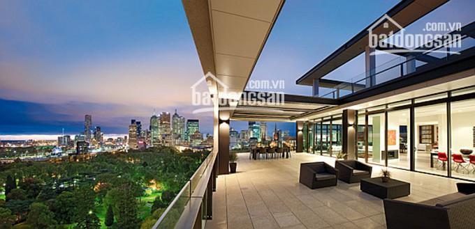 Chính chủ bán penthouse Sunrise City 500m2 hồ bơi sân vườn view đẹp, mới 100%, 0977771919