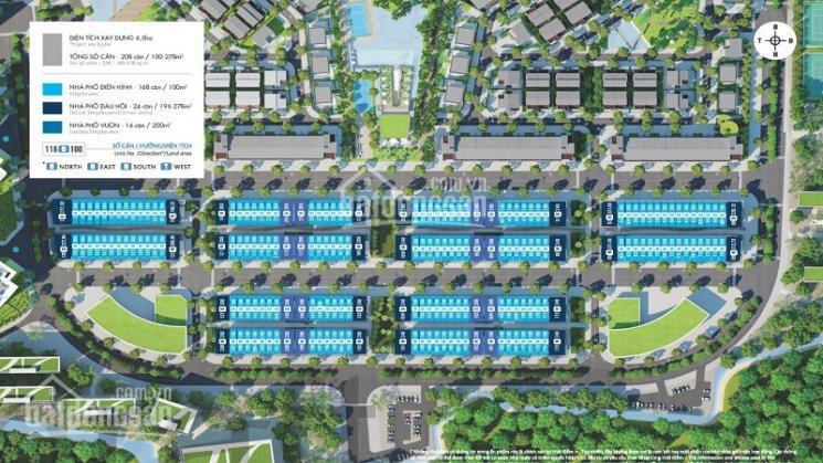 Cần bán lô nhà phố Thủy Nguyên hoàn thiện dãy B - lô số 118, hướng Nam, 100m2, giá 7.3 tỷ, bao phí