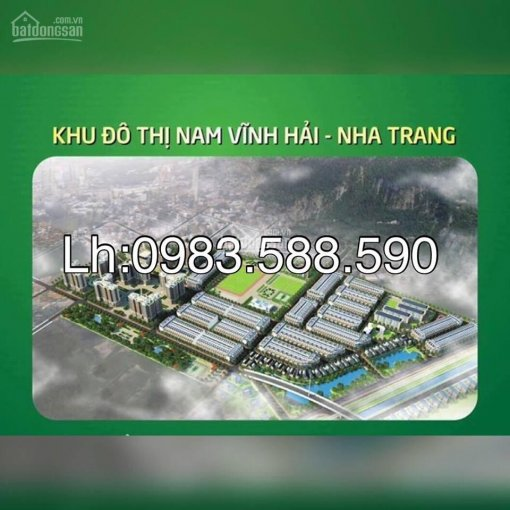 Khu đô thị Nam Vĩnh Hải phân phối trực tiếp từ chủ đầu tư, giá tốt, LH: 0983588590