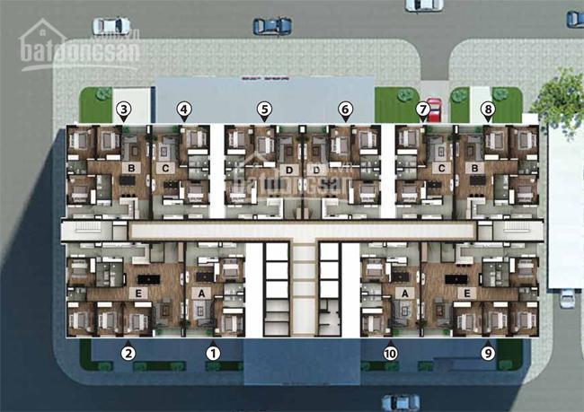 Bán căn hộ 05 tòa N03-T2 Tazeco khu đô thị Ngoại Giao Đoàn. DT 114m2, 3 PN, 2 VS, giá 32tr/m2
