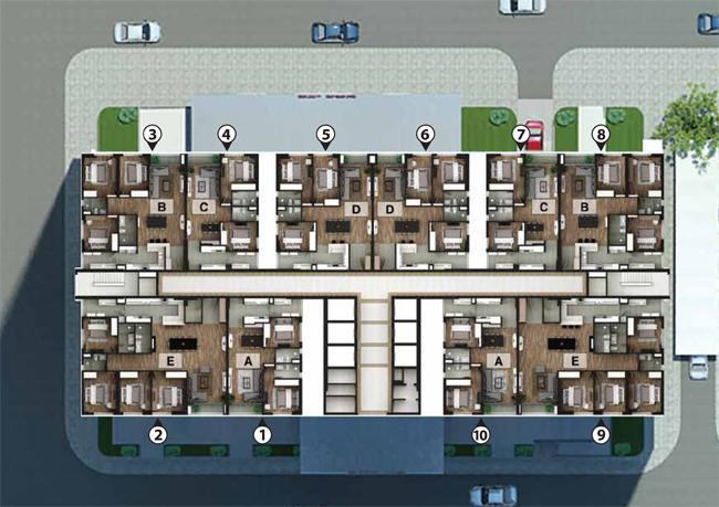 Bán căn hộ chung cư cao cấp tòa NO3T2 Tazeco, DT đa dạng từ 86m2, 114m2, 121m2, 171m2, giá 28 tr/m2
