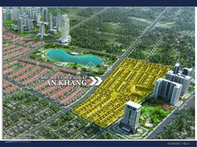 Gia đình chuyển công tác, bán gấp căn BT An Khang, khu A Dương Nội, đông nam, cạnh vườn hoa