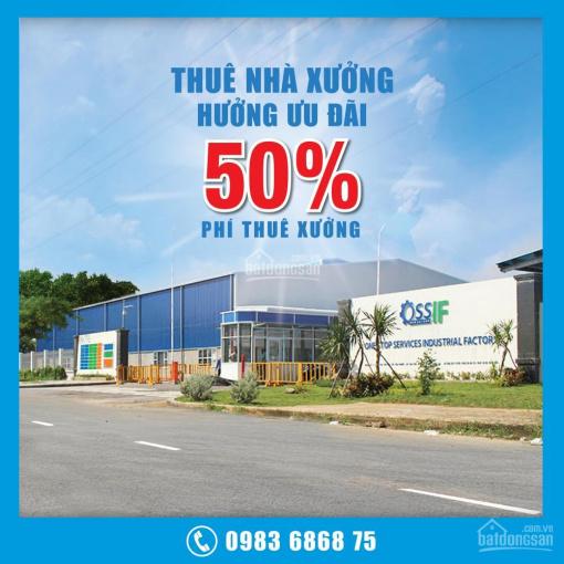 Thuê nhà xưởng - hưởng ưu đãi đến 50% tại kcn tân kim