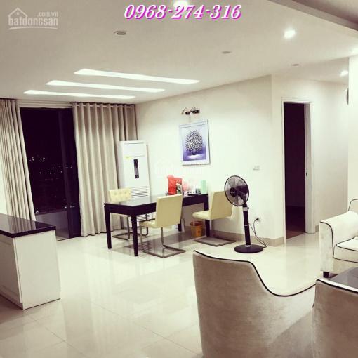 Cho thuê căn hộ chung cư Hapulico số 1 Nguyễn Huy Tưởng, DT: 102m2, 2PN, giá 14 triệu/tháng (đủ đồ)