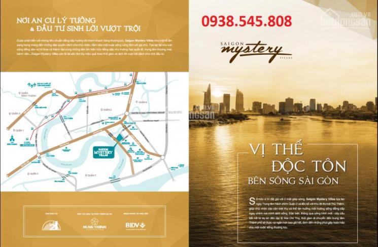 Bán đất nền nhà phố, biệt thự Saigon Mystery Villas ngay Diamond Island, từ 9 tỷ/lô, LH 0938545808