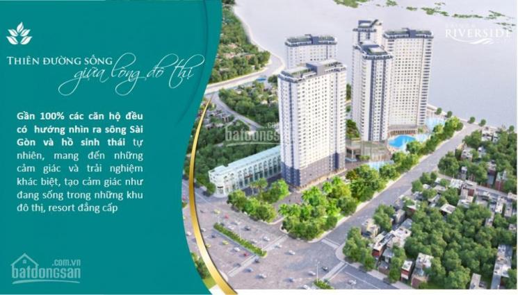 7 suất nội bộ căn hộ cao cấp ven sông Saigon đầu tư sinh lời 50%/6 tháng gần cầu Bình triệu