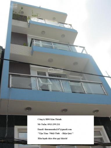 Bán nhà mặt tiền trần nhân tôn góc ngô gia tự, 7,5m x 16m, trệt, 4 lầu, nhà mới, 23,8 tỷ