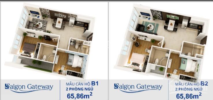 Quá hot, căn hộ Sài Gòn Gateway còn 90 căn suất đẹp nhất của dự án. Chiết khấu ưu đãi 30 triệu