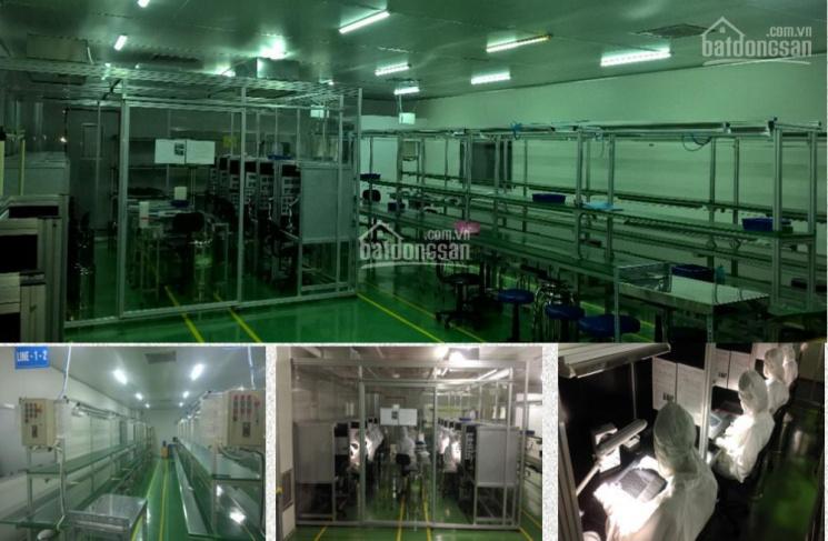 Sang nhượng nhà xưởng có sẵn cơ sở vật chất, nằm trong công ty cổ phần Mỹ Á, KCN Quế Võ, Bắc Ninh