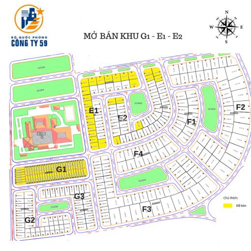 Cần chuyển nhượng các nền từ 123 - 500m2 thuộc dự án KĐT mới Bắc Dương Đông, Phú Quốc