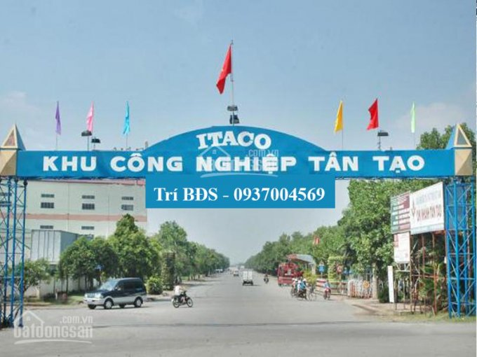 Cho thuê nhiều nhà xưởng từ 1.000m2 đến 10.000m2 KCN Tân Tạo, có văn phòng, trạm điện, đường lớn ảnh 0