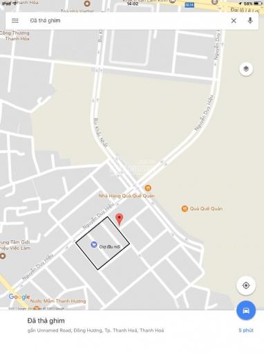 Chính chủ bán lô đất đầu Ve vị trí đẹp tại khu vực chợ đầu mối, P. Đông Hương, TP. Thanh Hóa