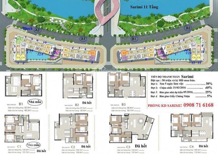 Nhận ký gửi, mua bán - cho thuê căn hộ Sarimi, khu đô thị Sala quận 2 ảnh 0