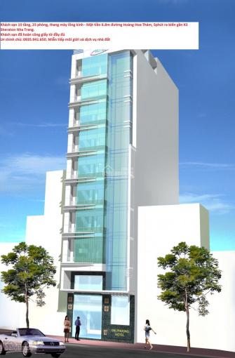 Bán khách sạn 10 tầng mt hoàng hoa thám, 5 phút ra biển. lh chính chủ: 0945.773.088 không môi giới